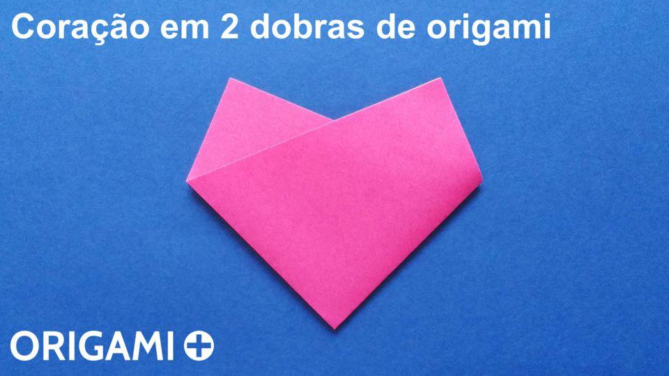 coração em 2 dobras