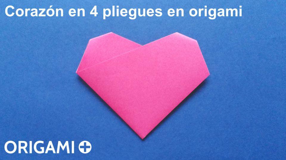 Corazón en 4 pliegues