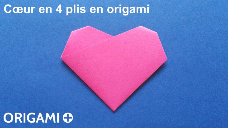 Cœur en 4 plis