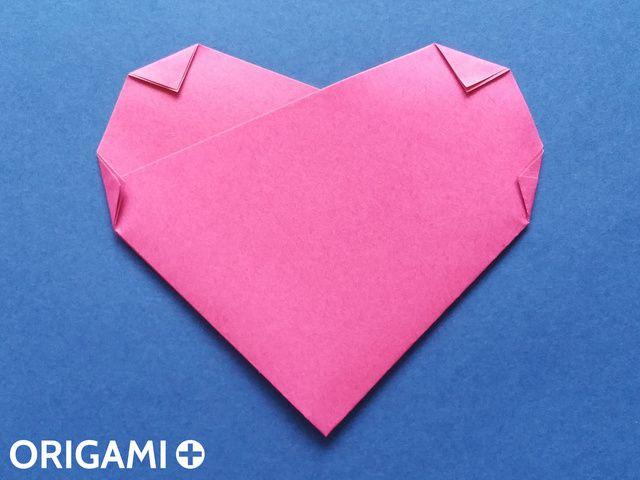六步驟心型折紙 - 步 6