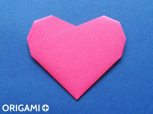 六步驟心型折紙 - 步 7