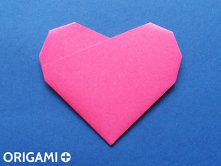 Origami 6-fold heart