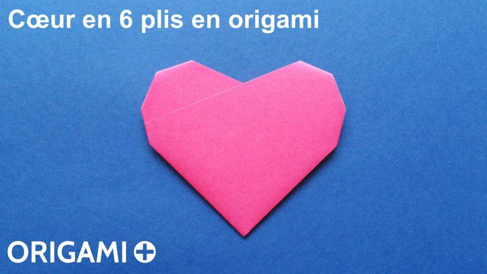 cœur en 6 plis