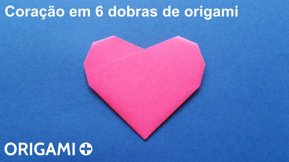 coração em 6 dobras