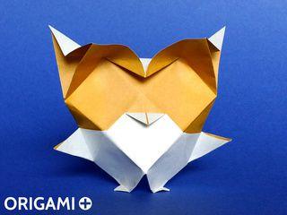 Bébé Chouette / Hibou en origami