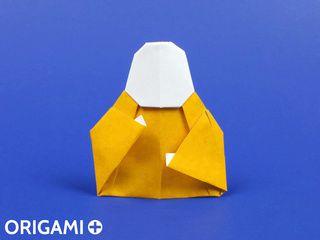 Bouddha en origami
