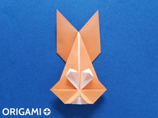 Origami Bunny Face