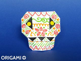 Origami Calavera