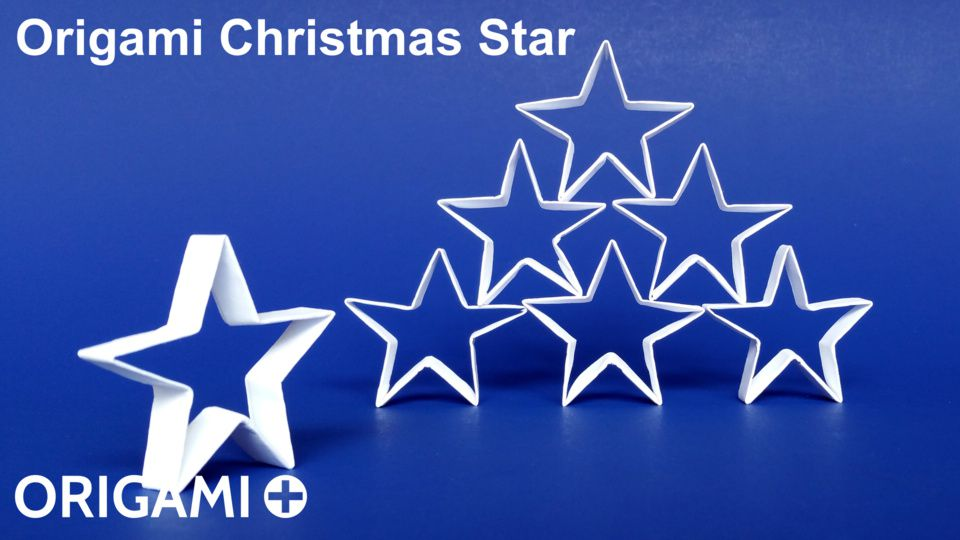 DIY 3D PAPER STAR CHRISTMAS DECORATIONS. — Gathering Beauty | 540x960