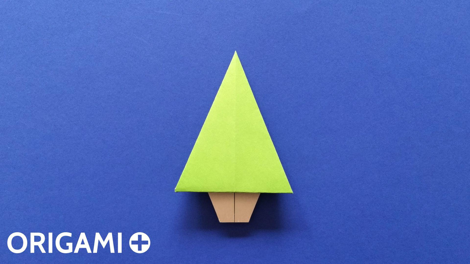 Albero Di Natale Origami.Albero Di Natale Origami