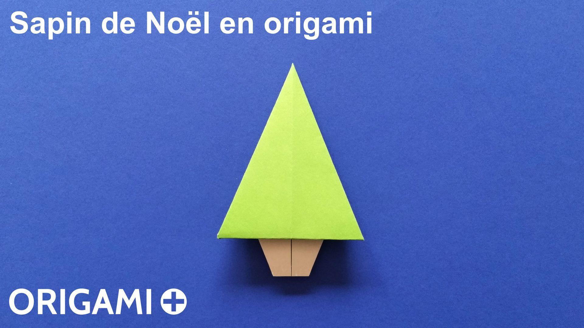 Sapin De No L En Origami