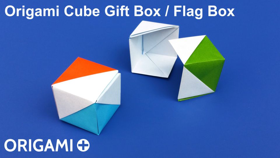 Cube Gift Box / Flag Box