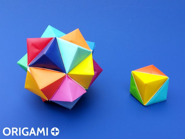 How to Make an Origami Cube Using 6 Pieces of Paper : 25 Steps ... | 480x640
