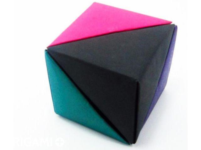 Cube of Pyramids - step 8