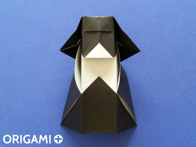 Papercraft Star Wars, Make your own Darth Vader Statue, Papercraft ... | 480x640