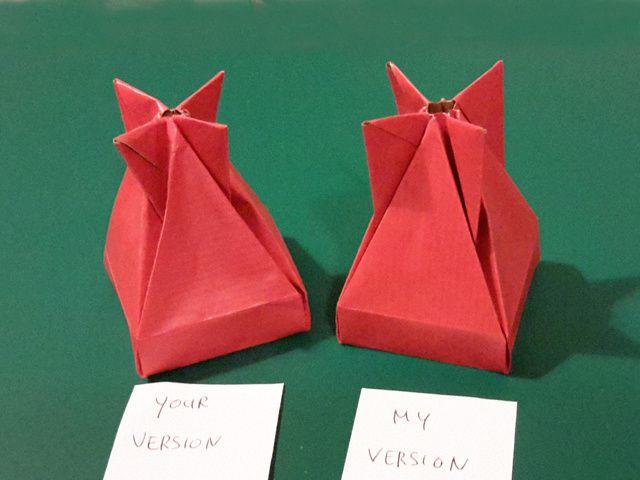 boite dropbox en origami. Black Bedroom Furniture Sets. Home Design Ideas