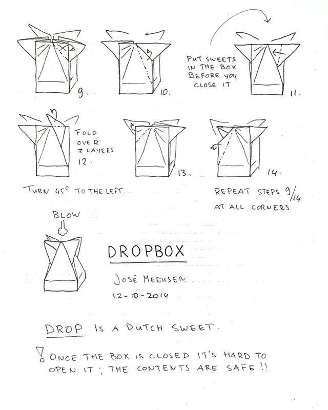 Origami Box Diagrams