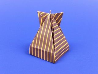 Boite Dropbox en origami