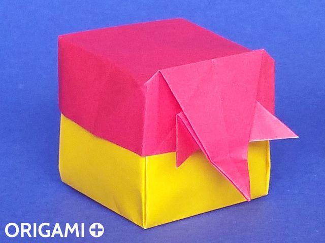 大象盒子 - 步 1