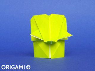 Elephant en origami
