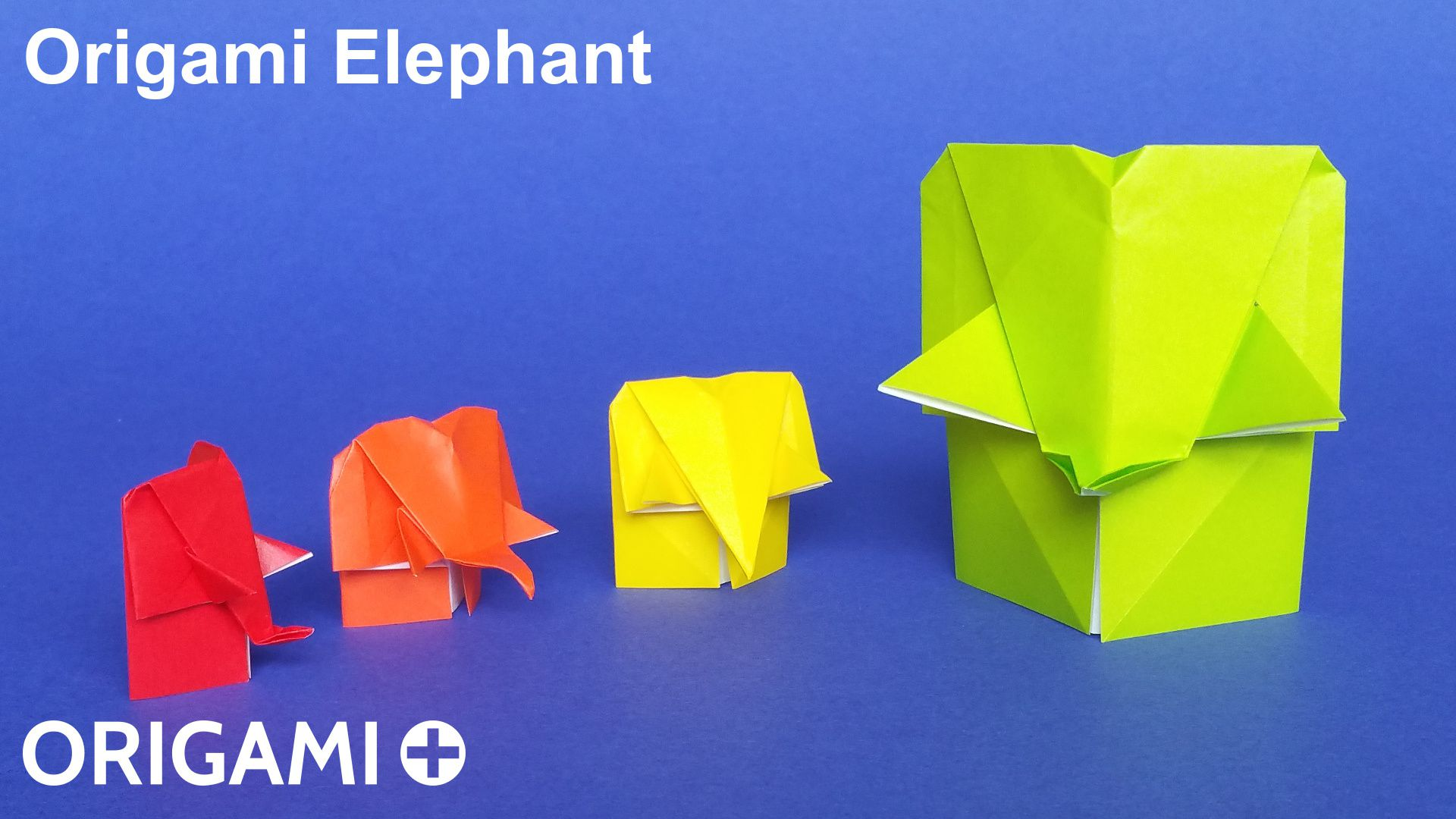 How To Make A Dollar Bill origami elephant - YouTube ... the ... | 1080x1920