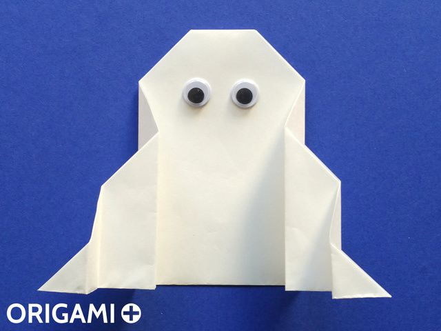 Origami Ghost by Anibal Voyer | Origami Ghost by Anibal Voye… | Flickr | 480x640