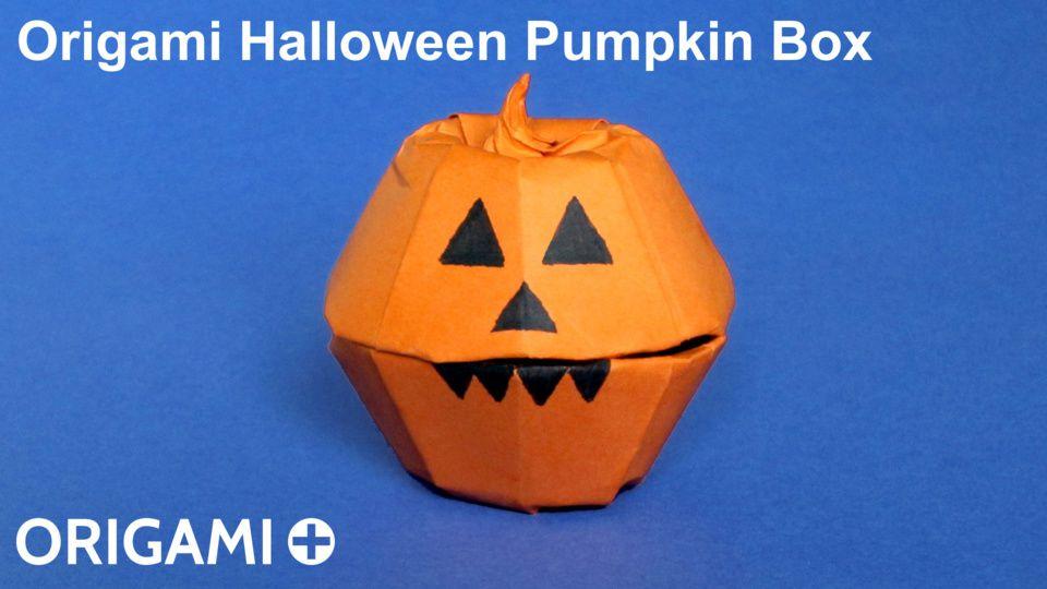 Halloween Pumpkin Box