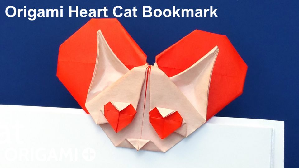 Heart Cat Bookmark