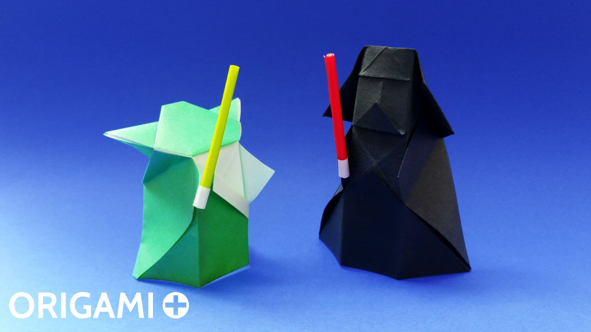 How to Make an Origami Stormtrooper from Star Wars in 5 minutes ... | 1080x1920