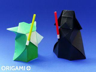 Sabre Laser en origami