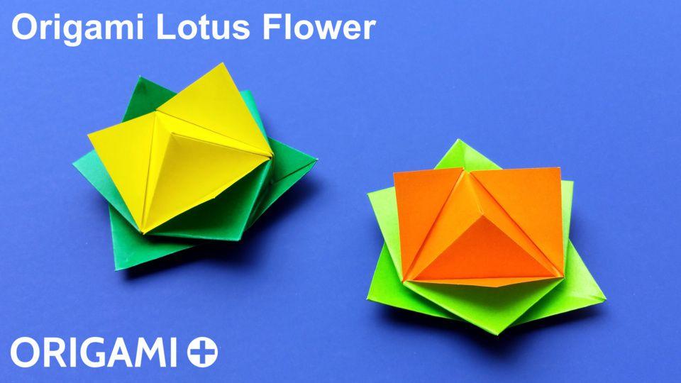 Origami Lotus Flower Tutorial | Origami flowers tutorial, Origami ... | 540x960