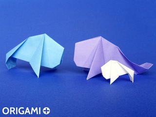 Lamantino origami