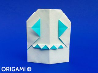 Origami Mr Ghost