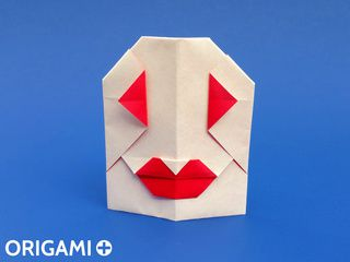 Origami Mrs Ghost