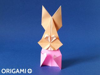 Origami Mrs Rabbit