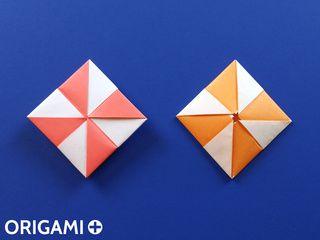 Origami Pinwheel Envelope