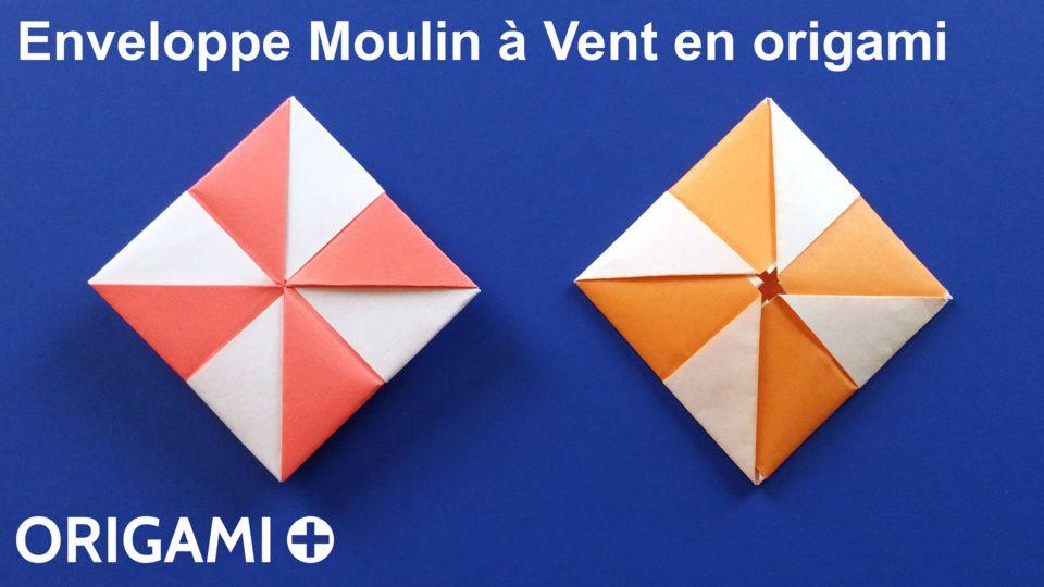Enveloppe Moulin à Vent