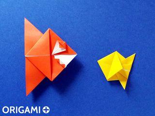 Origami Piranha