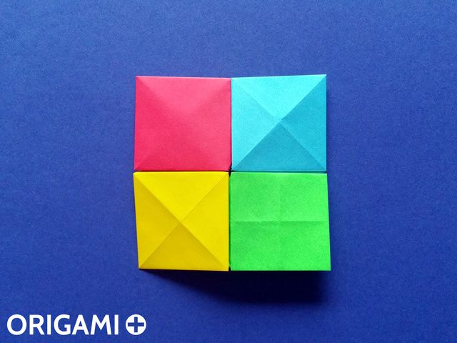 Pixel Unit for Origami Mosaics - step 1