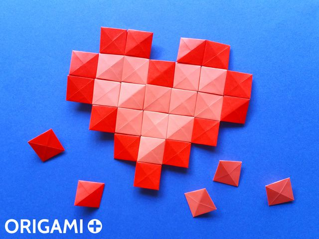 Pixel Unit for Origami Mosaics - step 3