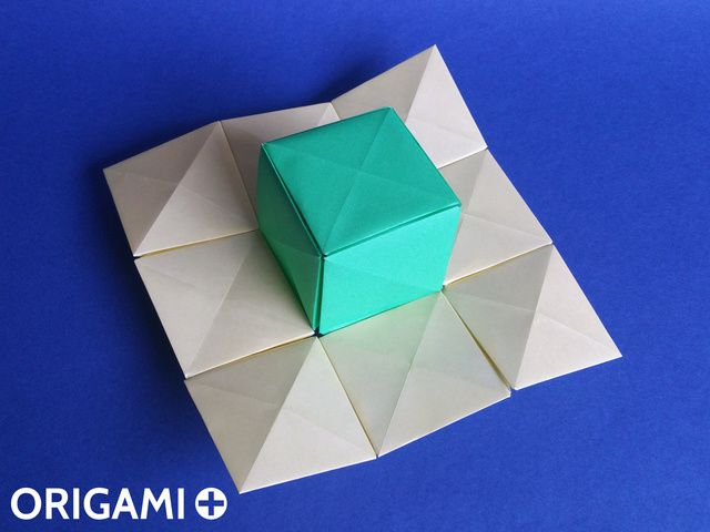 Pixel Unit for Origami Mosaics - step 5