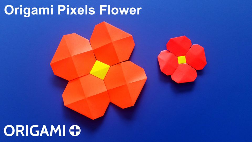 Pixels Flower