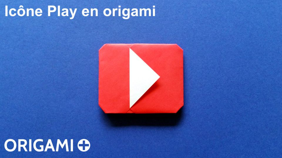 Ic ne play en origami - Origami youtube facile ...
