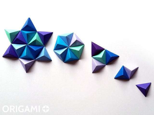 Pixels en forme de Pyramide pour Art Mural et Décorations Murales 3D - étape 2
