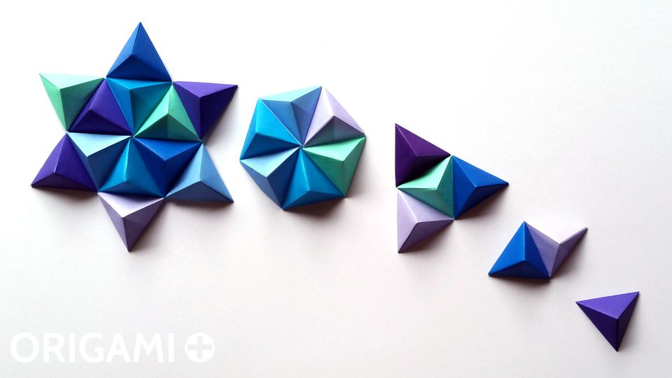 Pyramid Pixels for 3D Paper Wall Art
