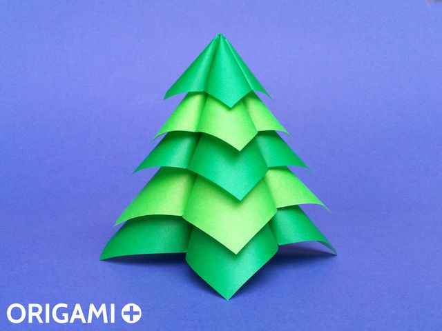 Quick and Easy Christmas Tree - step 1