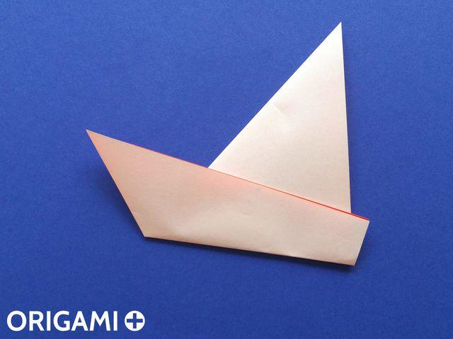 Voilier En Origami