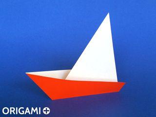 Velero en origami