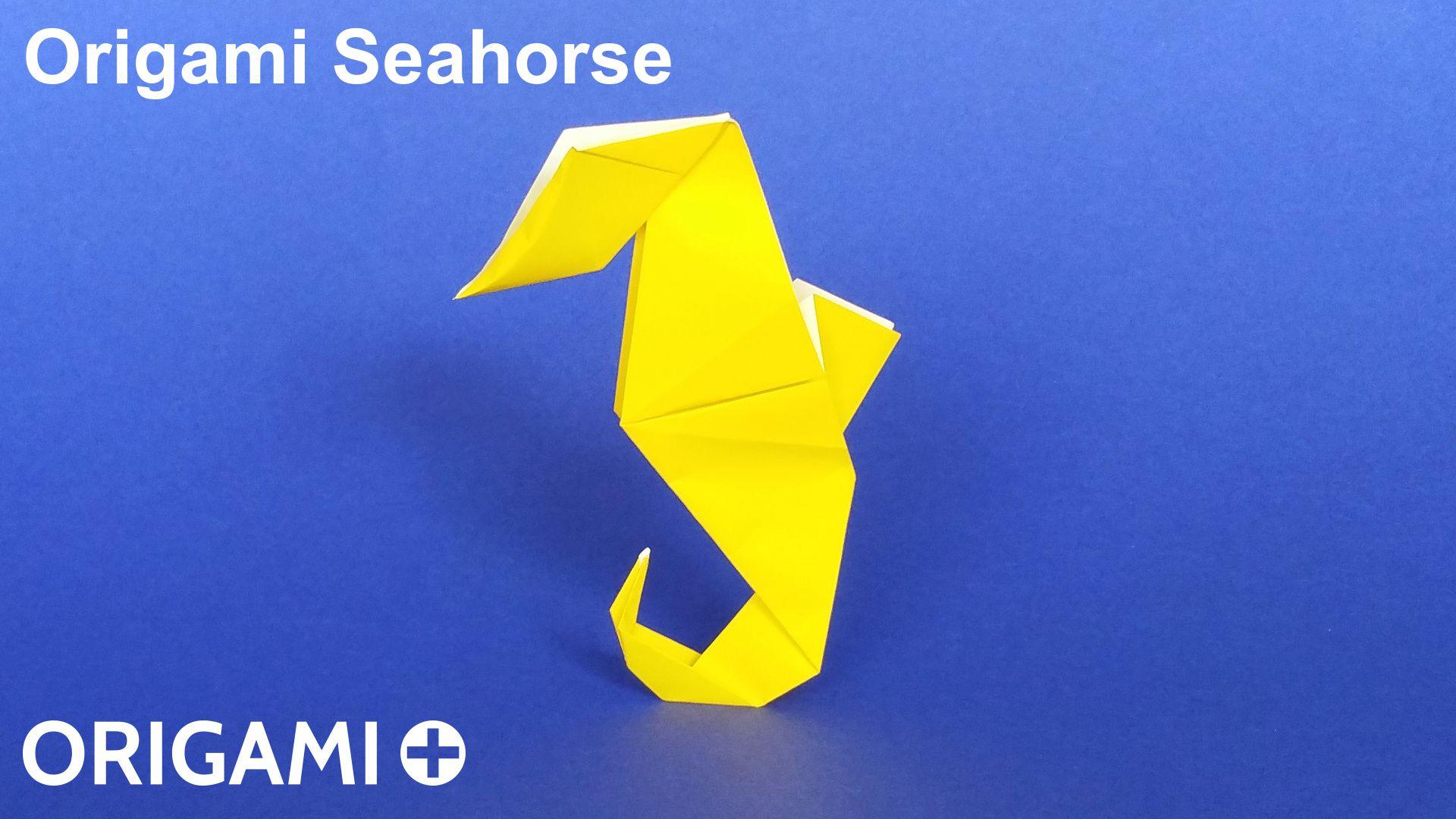 Origami seahorse instructions youtube - Origami Seahorse