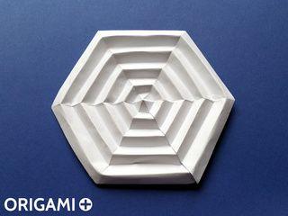 Origami Spider Web